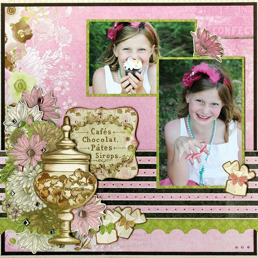 Sweet Moments - Papier Confectionery