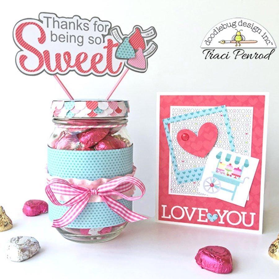 Cream & Sugar - Papier Bitsy Bouquet
