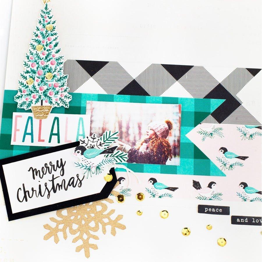 Falala - Papier Very Merry
