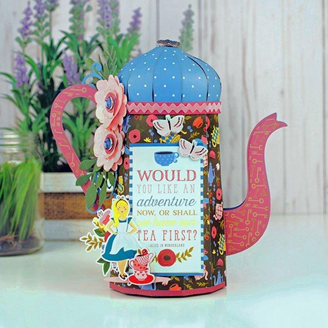 Alice in Wonderland - Papier Drink Me