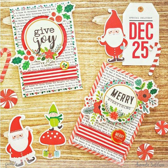 Cozy & Bright - Papier spécial Calendrier de l'avent