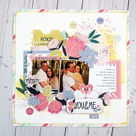 You and Me - Papier Border Strips