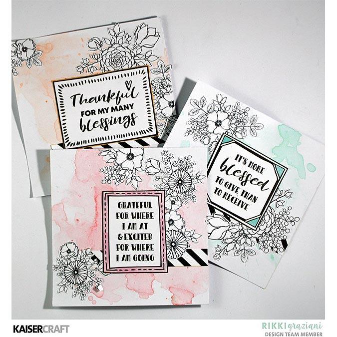 Blessed - Papier Gratitude