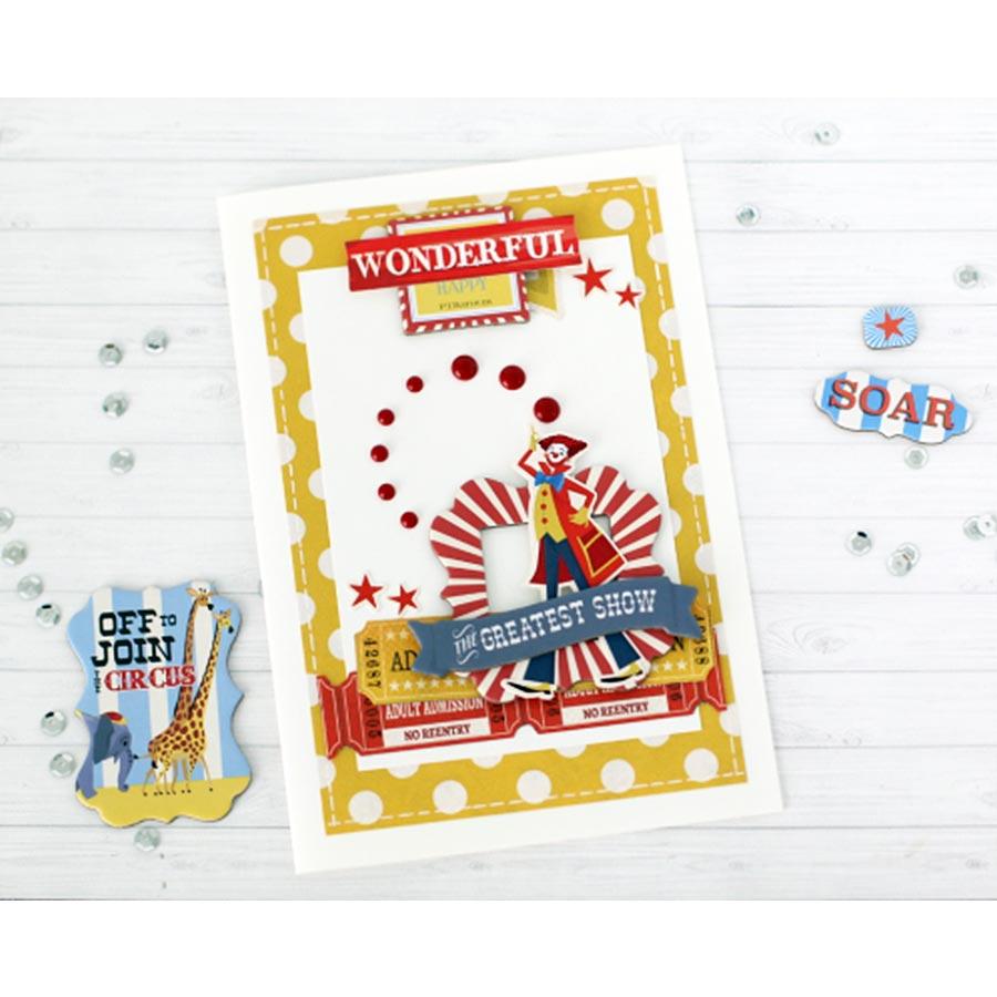 Circus - Papier Join The Circus
