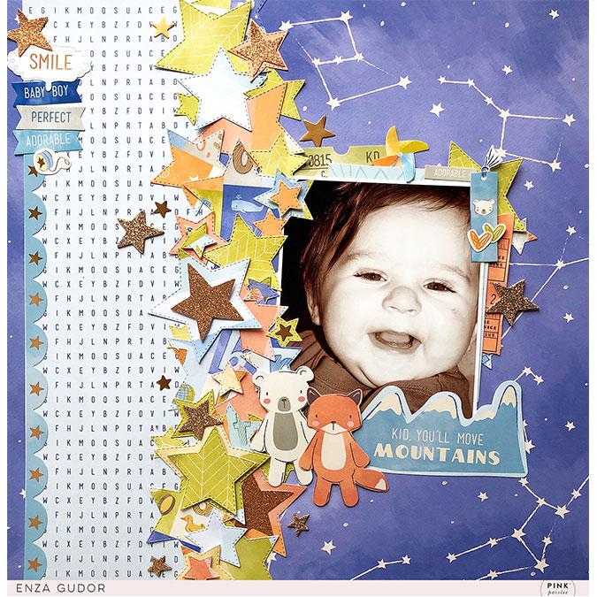 Little Adventurer - Papier #12