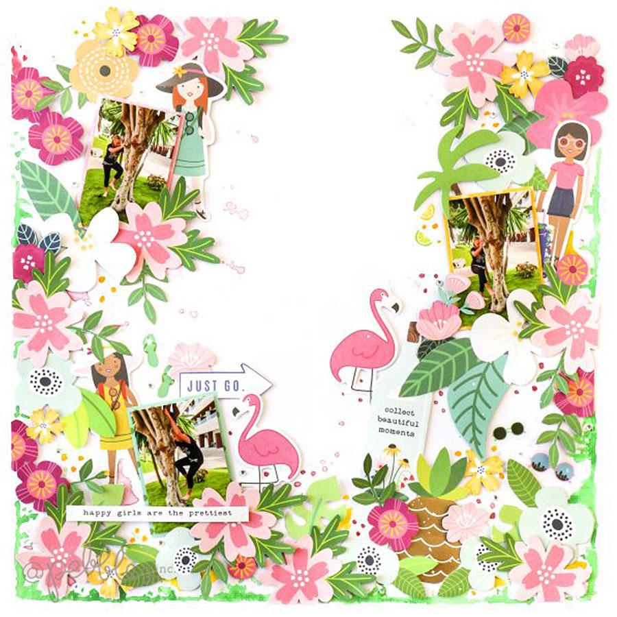 Chasing Adventures - Papier Wildflower