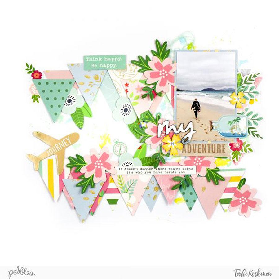 Chasing Adventures - Papier Fiesta Flowers