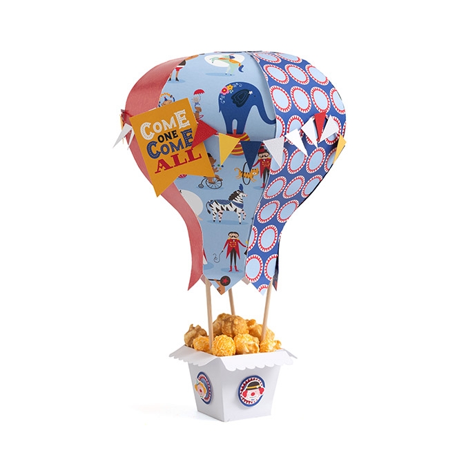Big Top Dreams - Papier Clowns