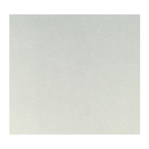 Feuille de simili cuir - Argent - 30 x 30 cm