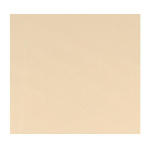 Feuille Simili Cuir - beige - 30 x 30 cm