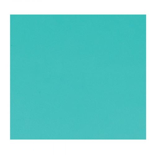 Feuille Simili Cuir - turquoise - 30 x 30 cm