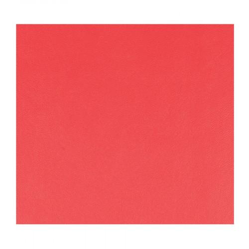 Feuille Simili Cuir - rouge - 30 x 30 cm