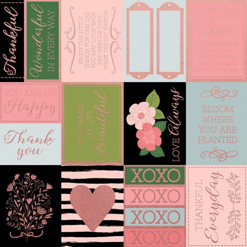 Full Bloom - Papier spécial Foil Journaling