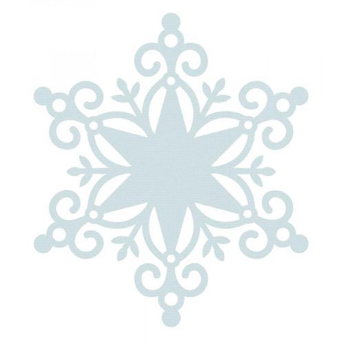 Wonderland - Papier spécial Die-cut Snowflake