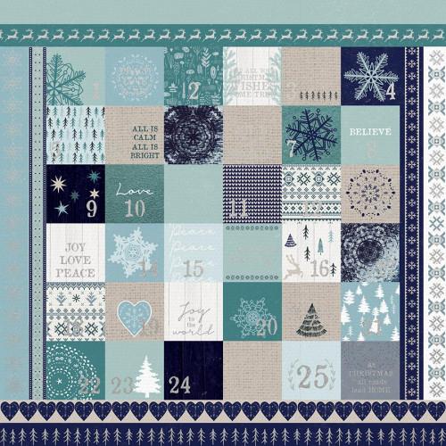 Wonderland - Papier spécial Foil Advent