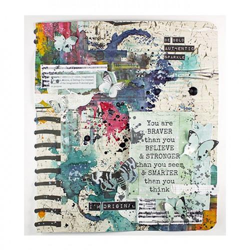 Scrap Studio - Papier spécial Die-cut Album