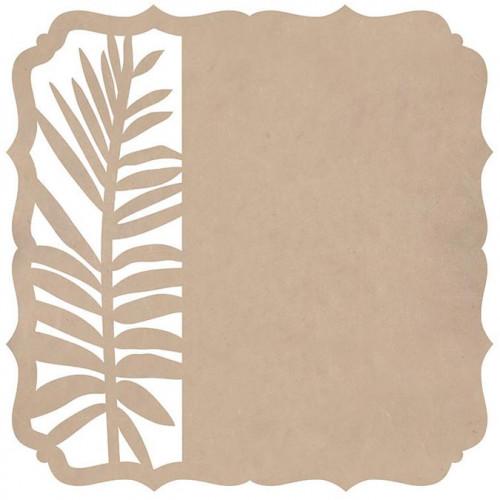 Whisper - Papier spécial Die-cut Fern Bracket