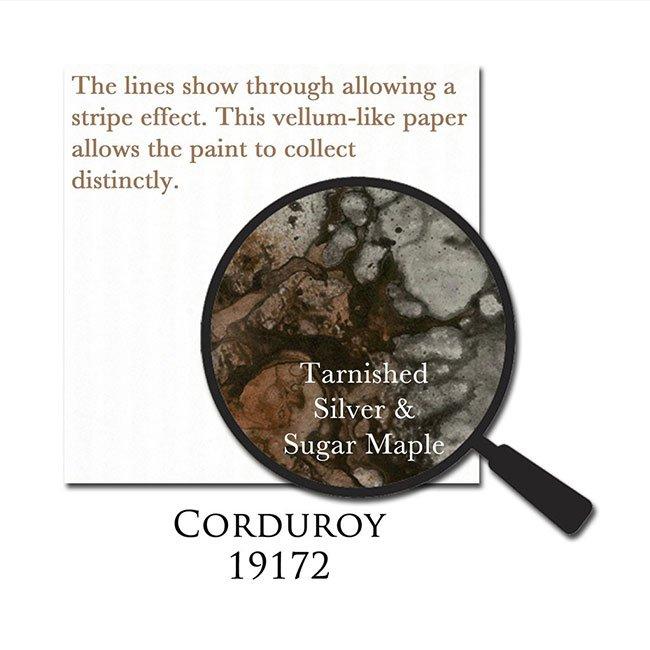 Papier texturé effet Velours - 30,5 x 30,5 cm