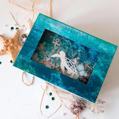 Deep Sea - Papier spécial Gloss Sea Shell