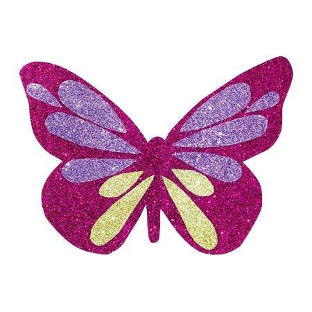 Carton Glitter - Multicolore - 21 x 29,7 cm - 10 feuilles