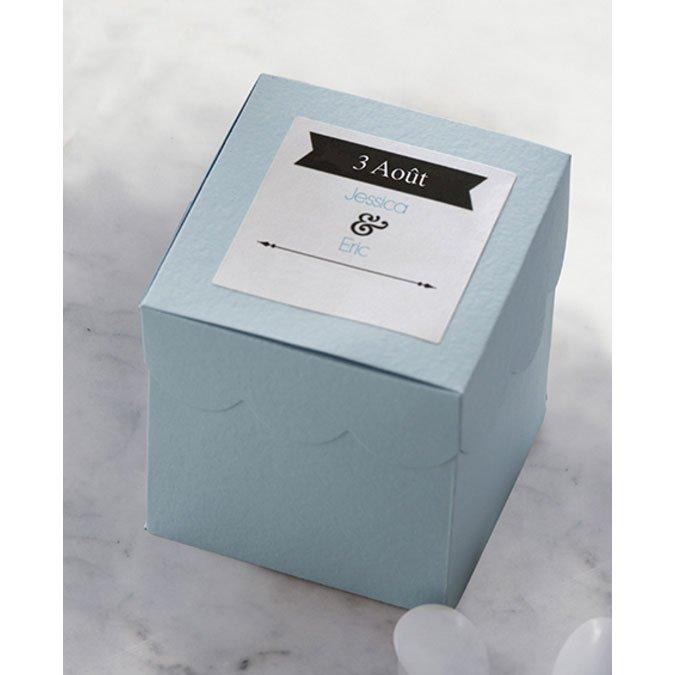 Feuilles autocollantes imprimables - A4 - blanc brillant - 8 pcs
