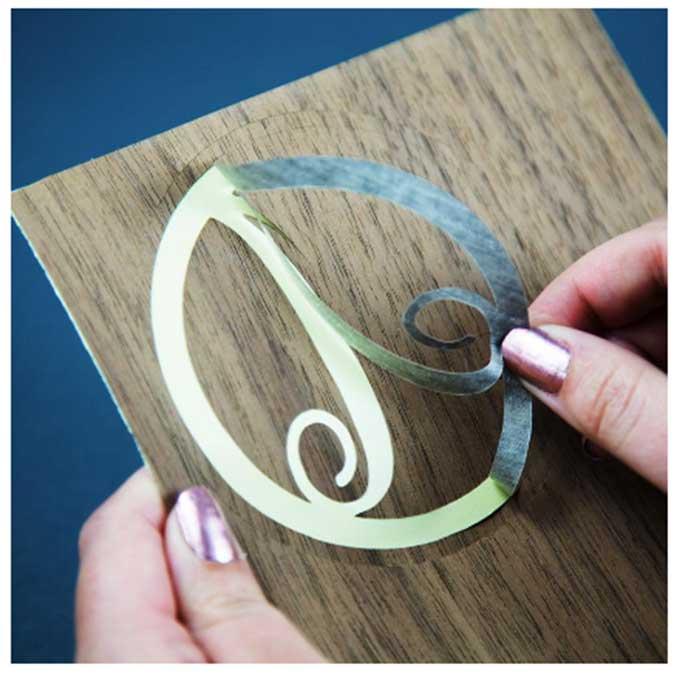 Papier adhésif imitation bois - 6 feuilles