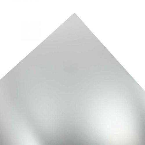 Papier Chromolux - argent - 50 x 65 cm - 250 g/m²