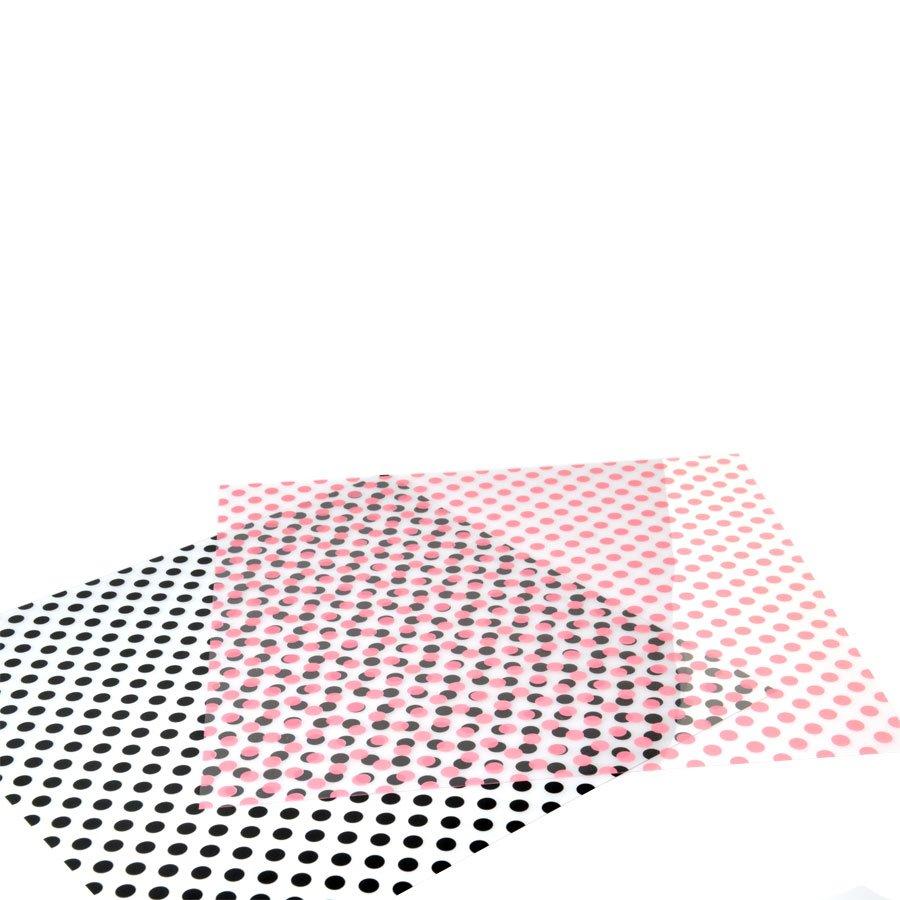 Papier transparent - Dots Raven