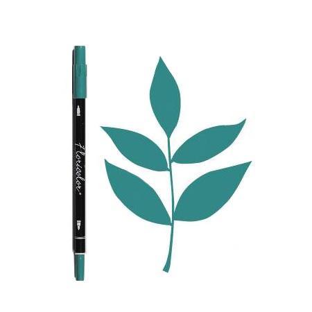 Feutre Floricolor - Eclat de jade