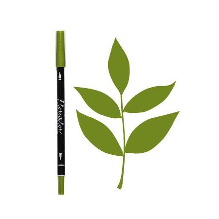Feutre Floricolor - Olive