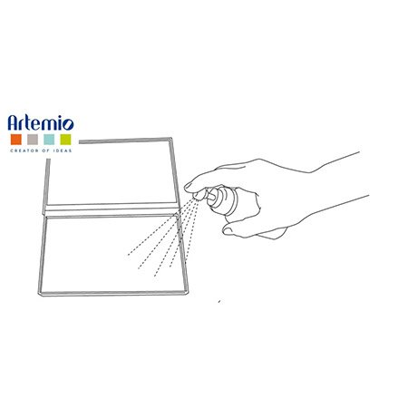 Nettoyeur double pour tampons clear et caoutchouc - 12,5 x 19,5 cm