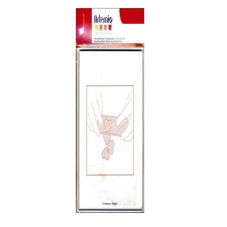 Bloc acrylique long  - 5 x 15 cm