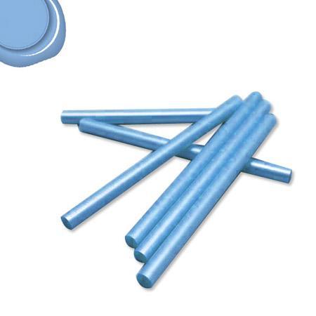 6 Bâtons de cire pour pistolet - Bleu ciel