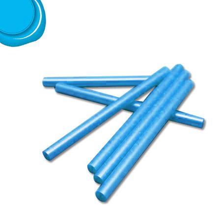 6 Bâtons de cire pour pistolet - Turquoise