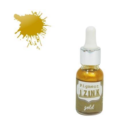Encre pigment Izink - Gold - 15 ml