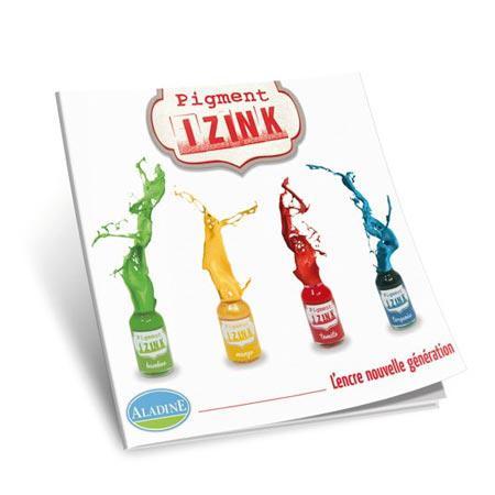 Encre pigment Izink - Livre technique multilingue
