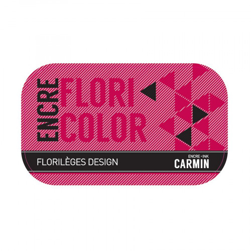 Encre Floricolor - carmin
