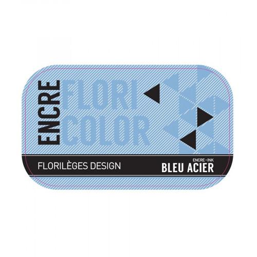Encre Floricolor - bleu acier