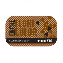 Encre Floricolor - brou de noix
