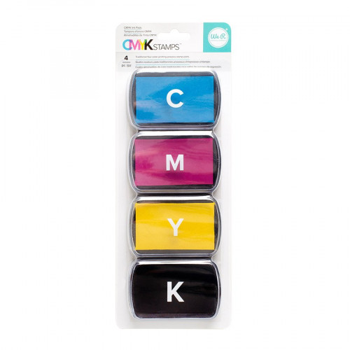 CMYK - Set d'encreurs - 4 pcs