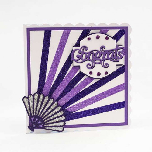 Encre Glitter Drops Purple Rain - 30 ml