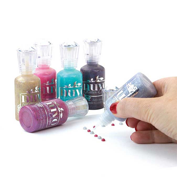 Encre Glitter Drops Dazzling Blue - 30 ml