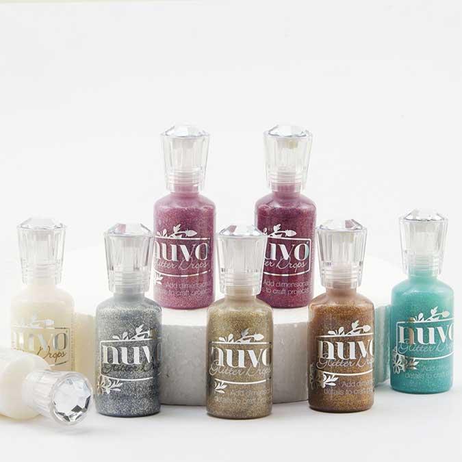 Encre Glitter Drops Aquatic Mist - 30 ml