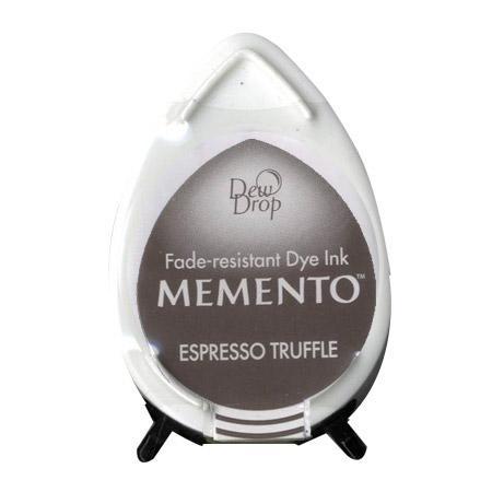 Encreur Memento Dew Drop - Espresso Truffle