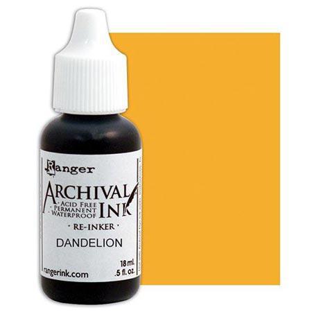 Archival Ink - Re-inker - Dandelion - 18 ml