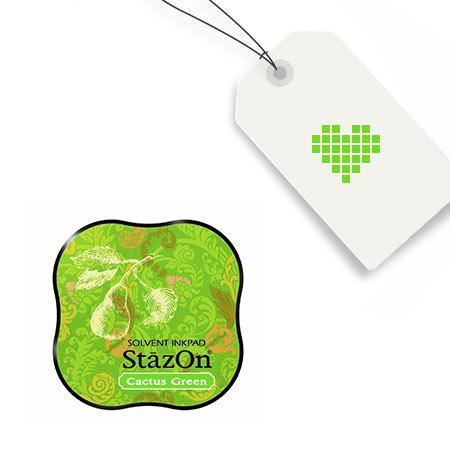 Encreur StazOn Midi - Cactus Green