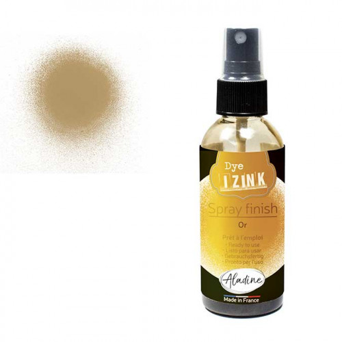 Encre en spray Izink Finish Or - 80 ml