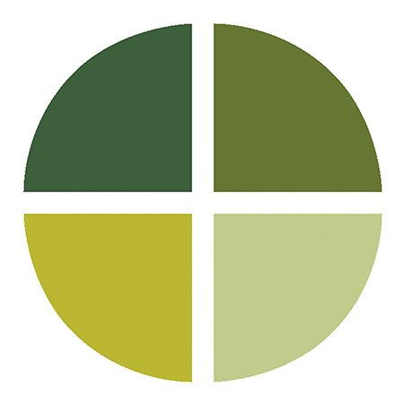 Assortiment de 4 encreurs Memento Dew Drop - Greenhouse