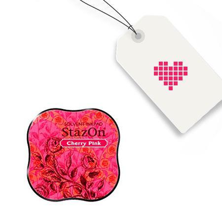 Encreur StazOn Midi - Cherry Pink