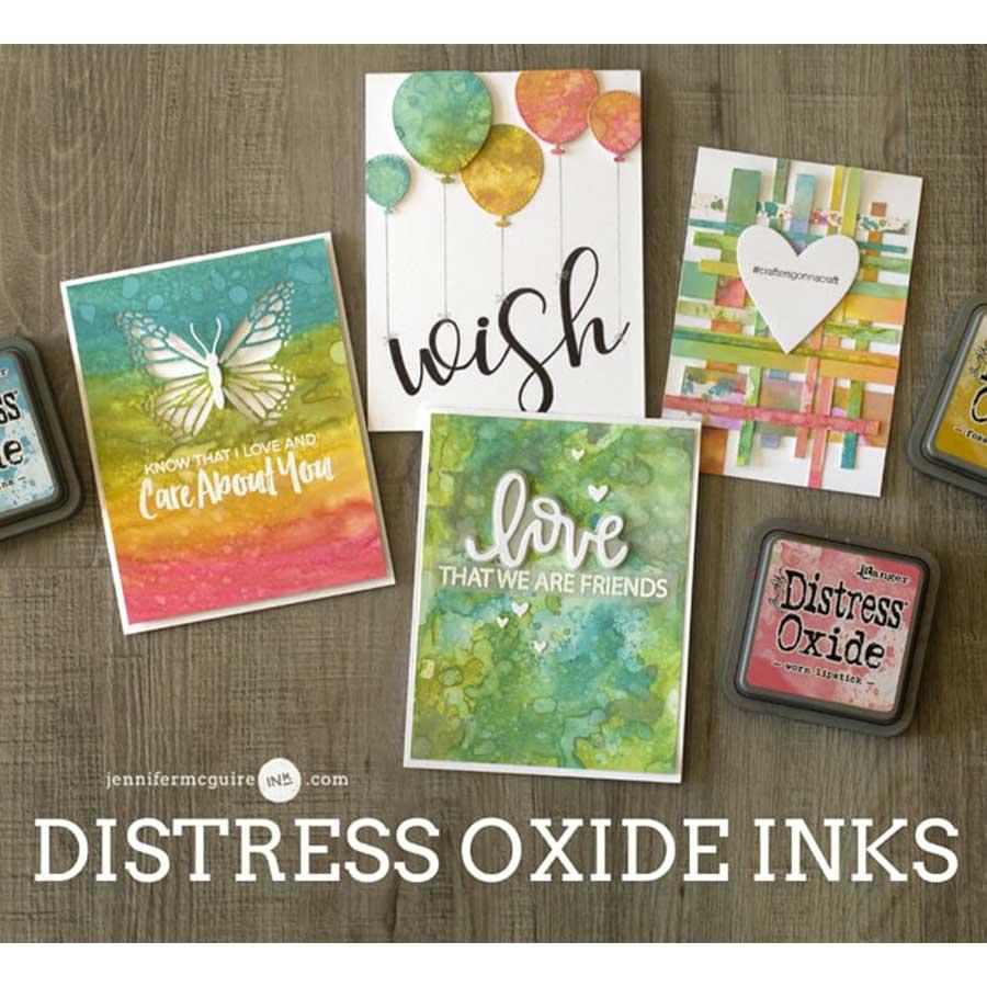 Encreur Distress Oxide Crushed Olive